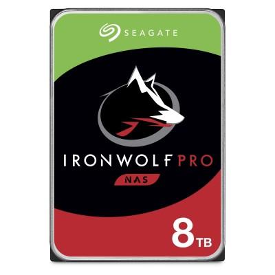"Seagate IronWolf Pro NAS 3.5"" 8TB SATA3 - ST8000NE001"