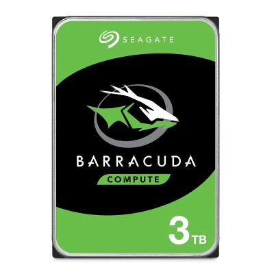 "Seagate Barracuda 3TB SATA3 3.5"" - ST3000DM007"
