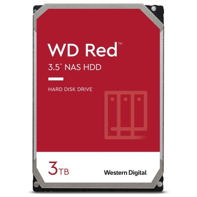"""WD Red 3TB 3.5"""" SATA 3 NAS WD30EFAX"""