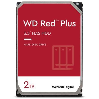 "WD Red Plus 2TB NAS 3.5"" SATA 3 - WD20EFZX"