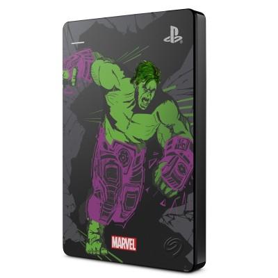 Seagate Game Drive HDD 2TB USB 3.0 Edición Hulk PS4 - STGD2000204