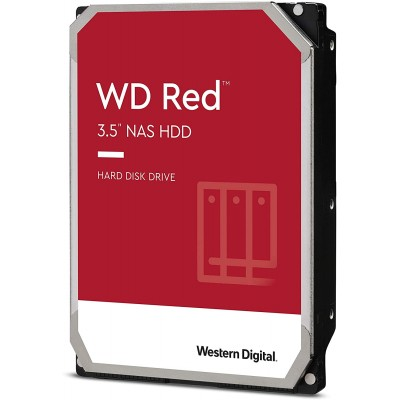 """WD Red NAS 6TB - 3.5"""" SATA3 - WD60EFRX"""