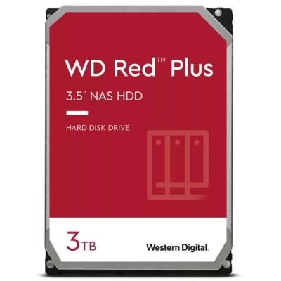 "WD Red Plus 3.5"" 3TB NAS SATA 3 - WD30EFZX"