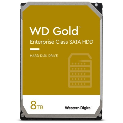 "WD Gold 8TB - 3.5"" SATA3 - WD8004FRYZ"
