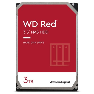 """WD Red 3TB - 3.5"""" NAS SATA3 - WD30EFRX"""
