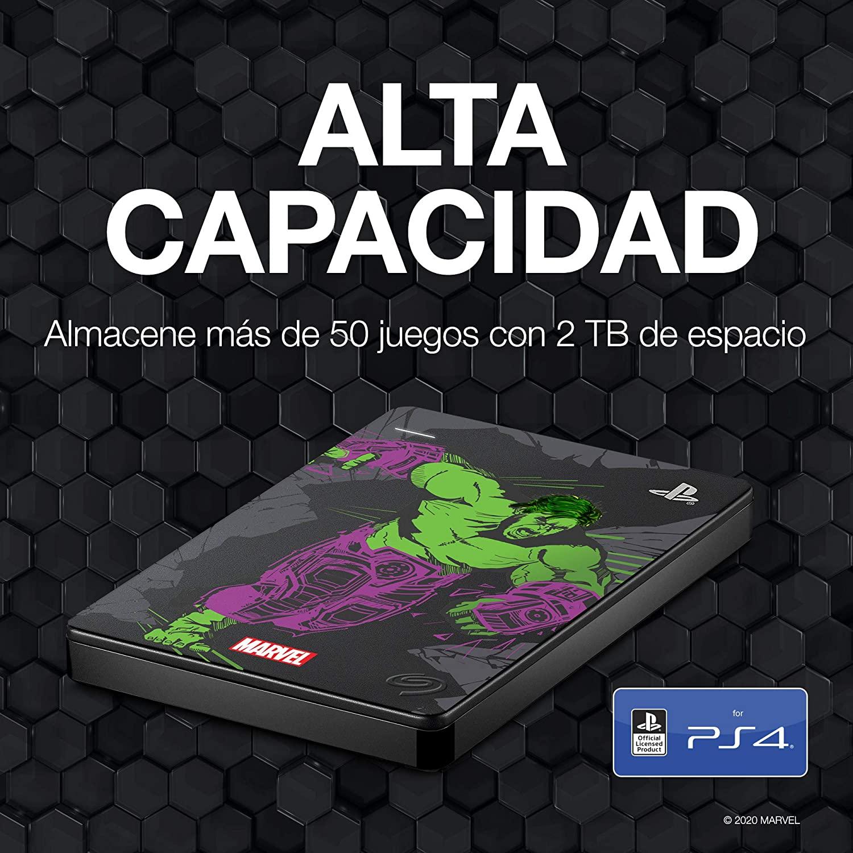 Seagate Game drive Hulk_STGD2000204
